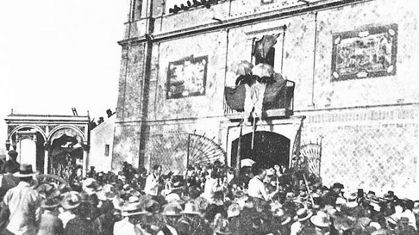 Las vísperas de la coronación de la Virgen del Rocío en 1919
