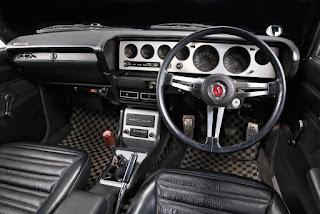 1973 Nissan Skyline 2000GT-R Interior