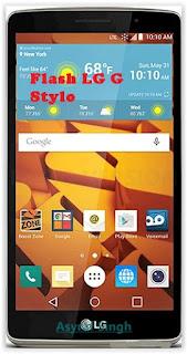 Flash / Install Firmware LG G STYLO