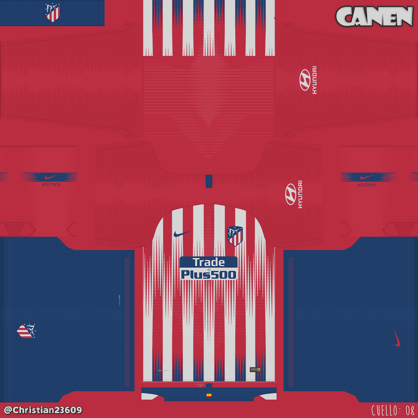 Kit Real Madrid Para Pes 2019: Atlético De Madrid