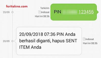 ganti pin sms banking bni