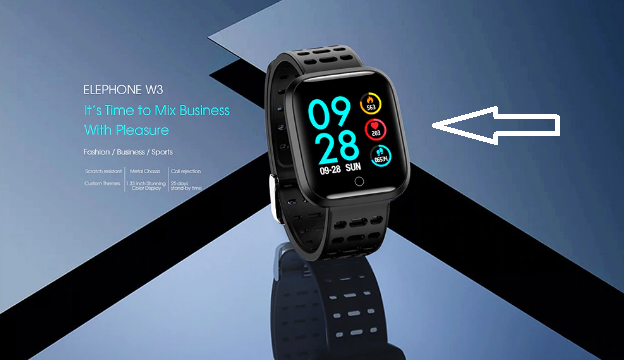 ELEphone W3 SmartWatch features