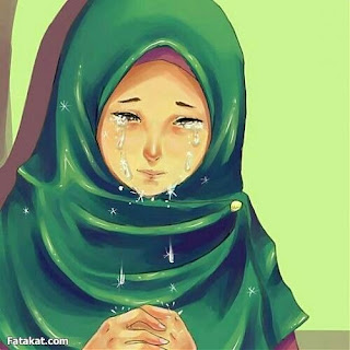 mmenangis dengan air mata