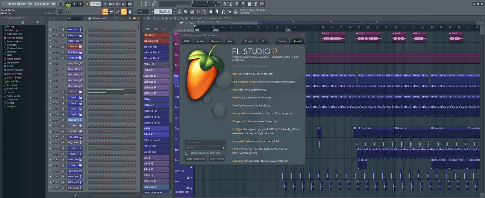 FL Studio Producer Edition v20.1.2.877 Full version