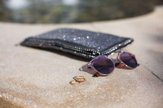 Vegan Fashion - Vegan luxury - Christian Dior So real Rose Gold Sunglasses and Stella McCartney Silver Falabella - Best Dubai Fashion Blogger