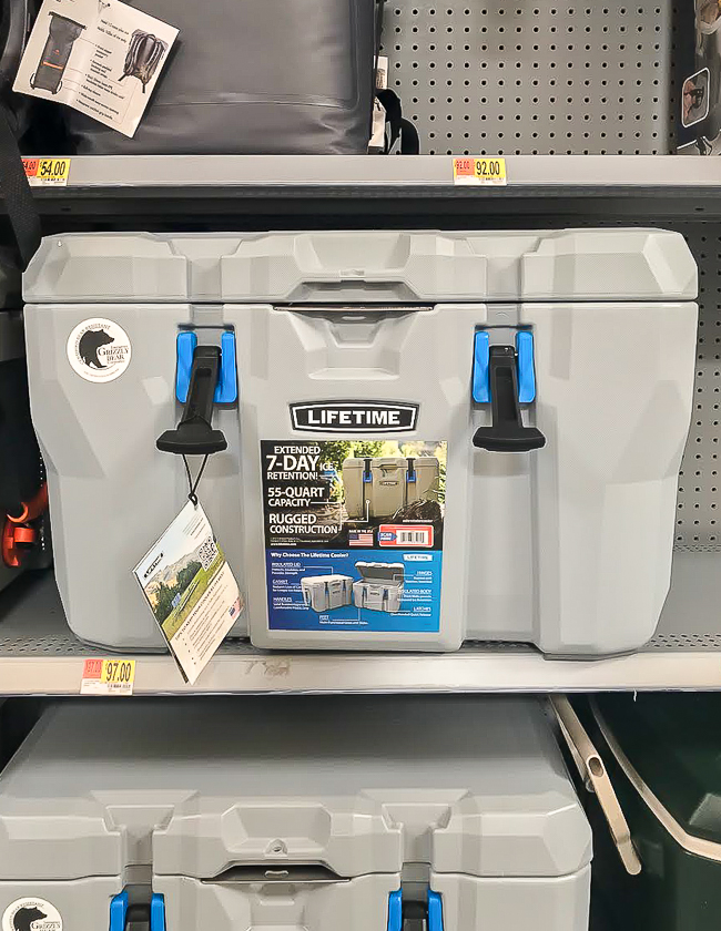 Lifetime cooler from Walmart