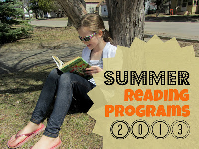 A list of links to FREE Summer Reading Programs for Kids 2013.-The Unlikely Homeschool