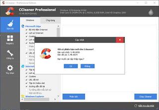 CCleaner Professional - Phần mềm dọn dẹp, tăng tốc máy tính
