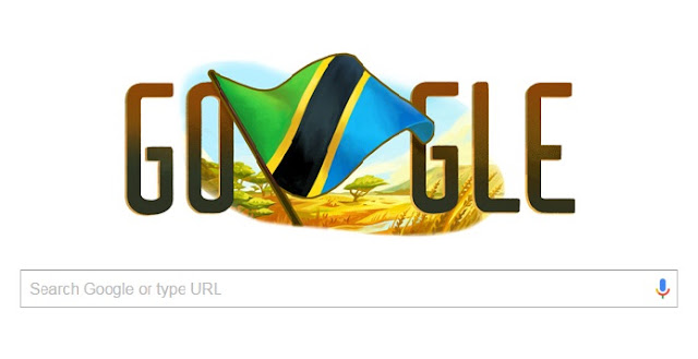 Google honours Tanzania with Independence Doodle