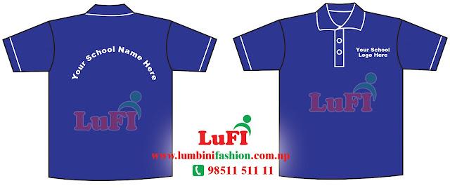 T-Shirt Nepal Make Kathmandu School TShirt Garment Nepali