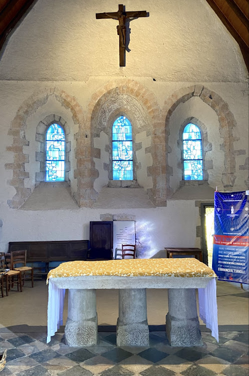 odette ducarre, pierre székely, église, vimory