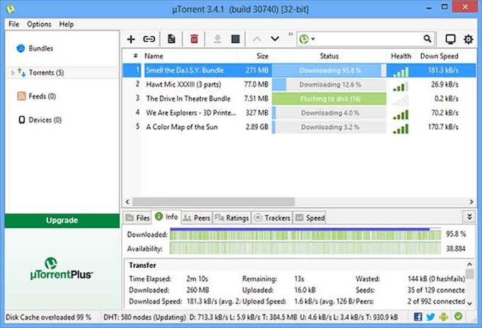 Utorrent Pro 3.5.5 Build 45341 - Hỗ trợ download