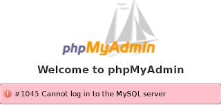 Mengatasi Error Login di PhpMyAdmin,Mysql dan Mariadb di Fedora 19