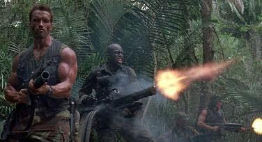 Jelenet a Ragadozó (Predator) című filmből  1987