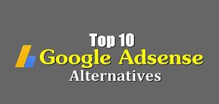 Top-10-google-adsense-alternatives
