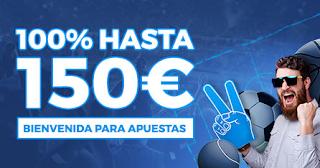 Paston nuevo bono bienvenida Apuestas deportivas 150 euros