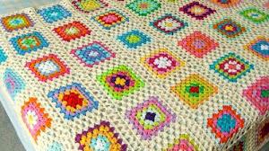 Manta al crochet super fácil