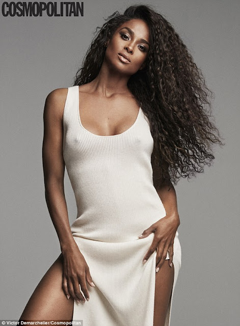 Ciara on Cosmopolitan Magazine