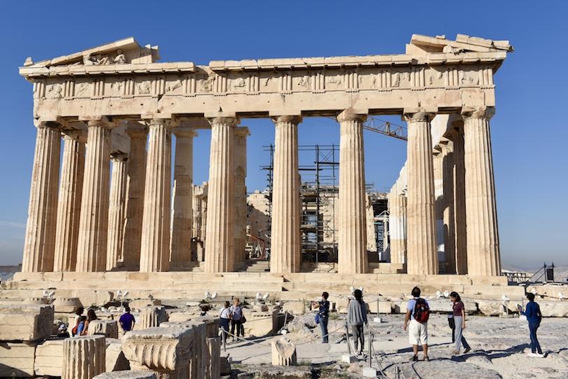 اشهر المعابد اليونانية