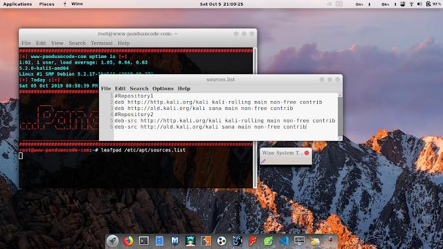Cara Mengganti Repository Kali Linux