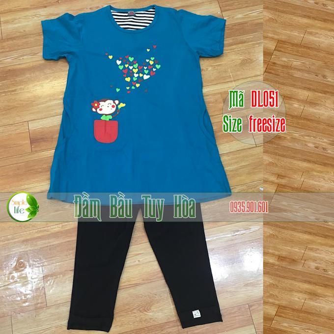 Bộ đôi áo và quần bầu thời trang DL051
