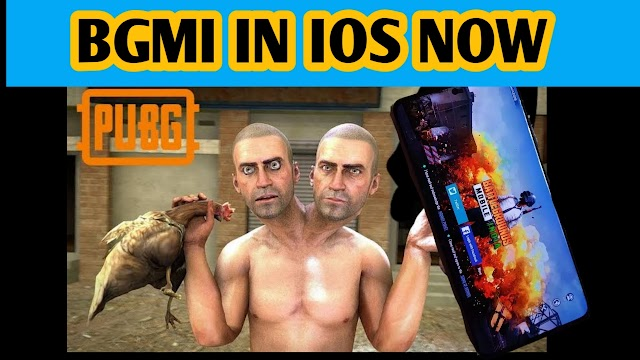 OH MY GOD BGMI MEANS BATTLEGROUNDS MOBILE INDIA ON IOS