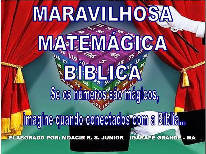 MATEMÁGICA BÍBLICA - em ppt