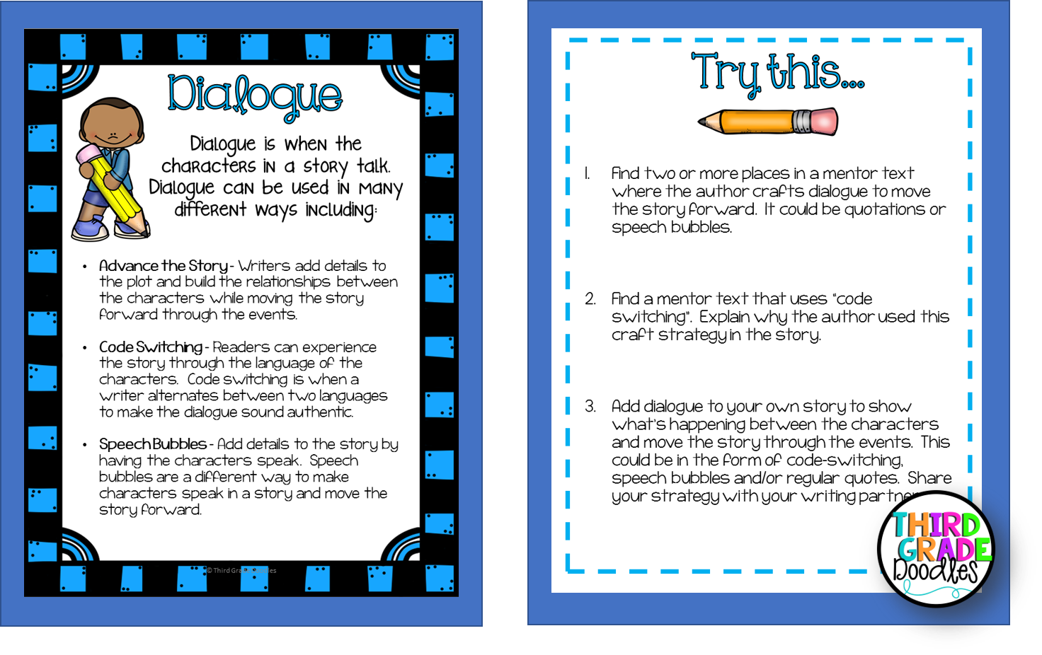 Teaching Personal Narrative Writing - Step By Step! - Third Grade Doodles [ 926 x 1472 Pixel ]
