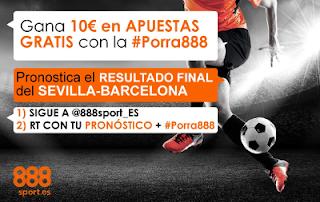 888sport porra888 twitter Sevilla vs Barcelona 14 agosto