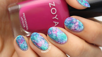 Aquarel nails