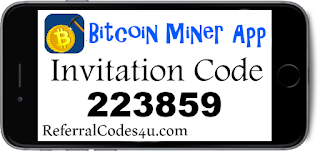 Enter Bitcoin Miner App by Vistagain Invite Code to start earning free bitcoins!