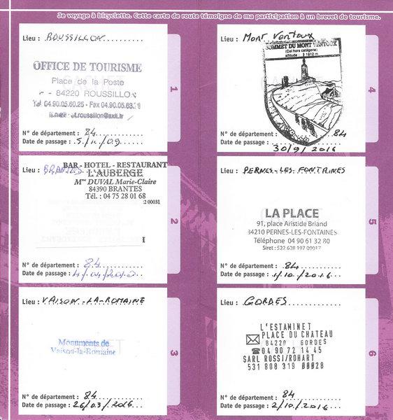 Brevet des provinces fran aises bpf bcn bpf - Pernes les fontaines office de tourisme ...