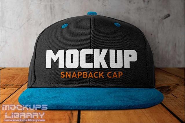 Cycling Cap Mockup Design