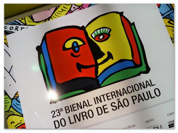 23ª Bienal Internacional do Livro de São Paulo - 1º Final de semana