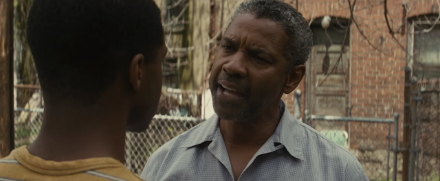 "Denzel Washington is a fearsome father in ""Fences"""