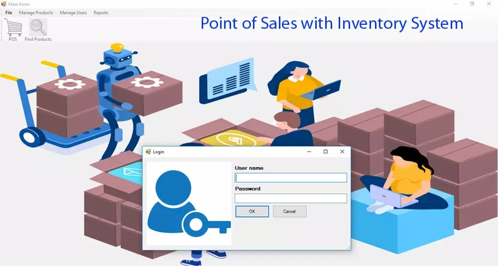 Point of Sales with Inventory System