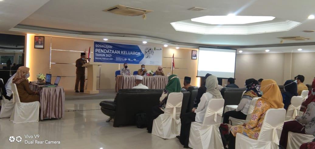 DP3AP2KB Natuna Sosialisasikan Pendataan Keluarga Tahun 2021
