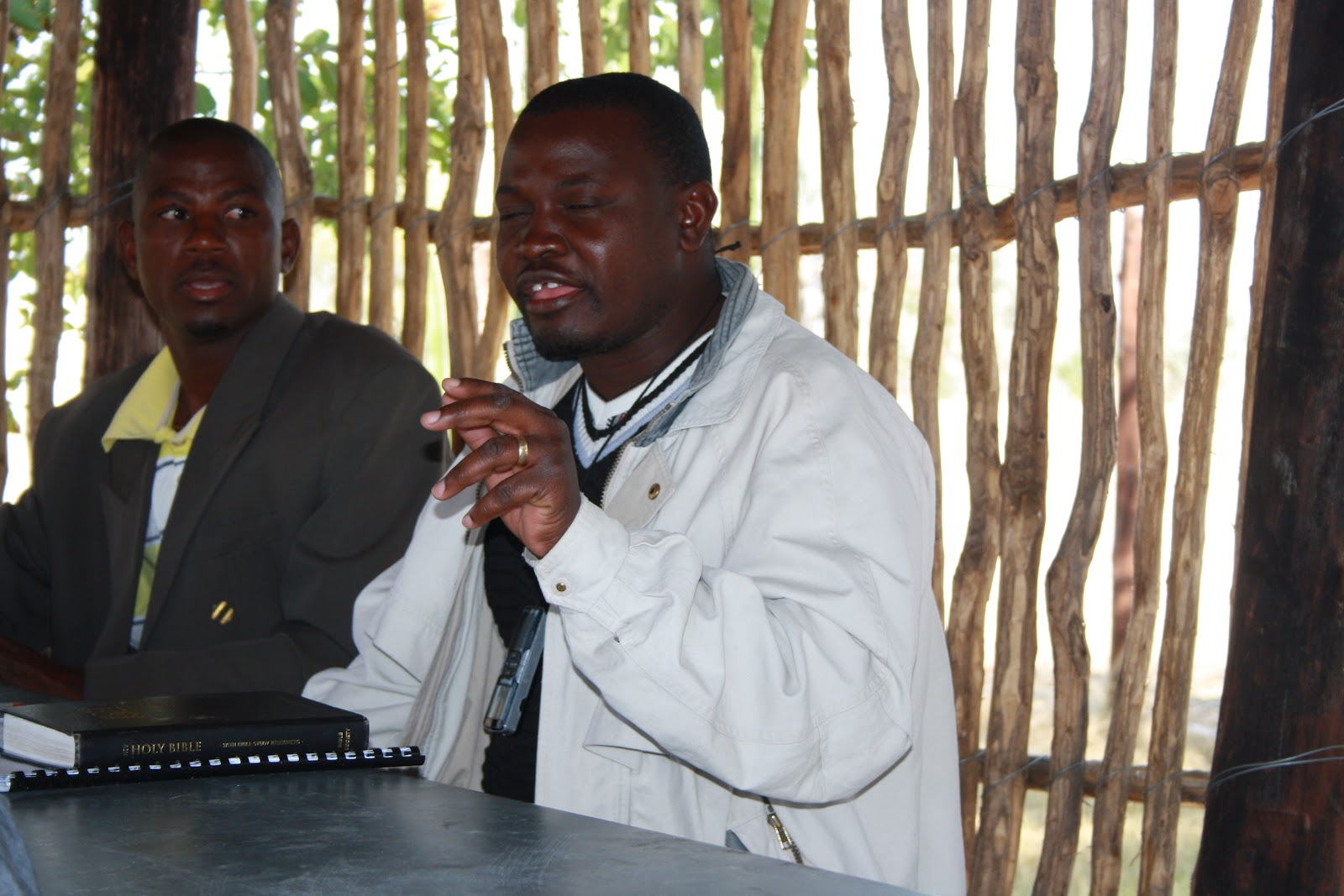 A Reformed Baptist in Namibia: NAMIBIA PASTORS CONFERENCE: Olukonda