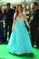 Telugu Actress Angela Krislinzki in transparent top at IIFA Awards 2017 Exclusive 53.JPG