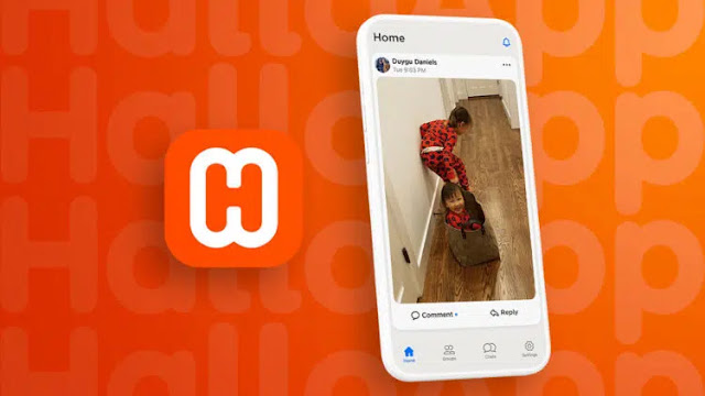 HalloApp: the social network that respects personal data!