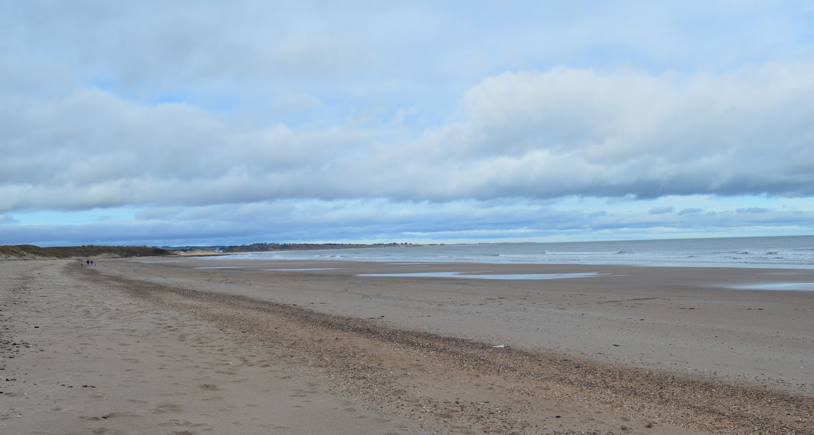 Warkworth beach in Northumberland