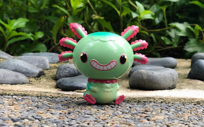 Mini Wooper Looper Mint Edition Vinyl Figure by Gary Ham x Pobber