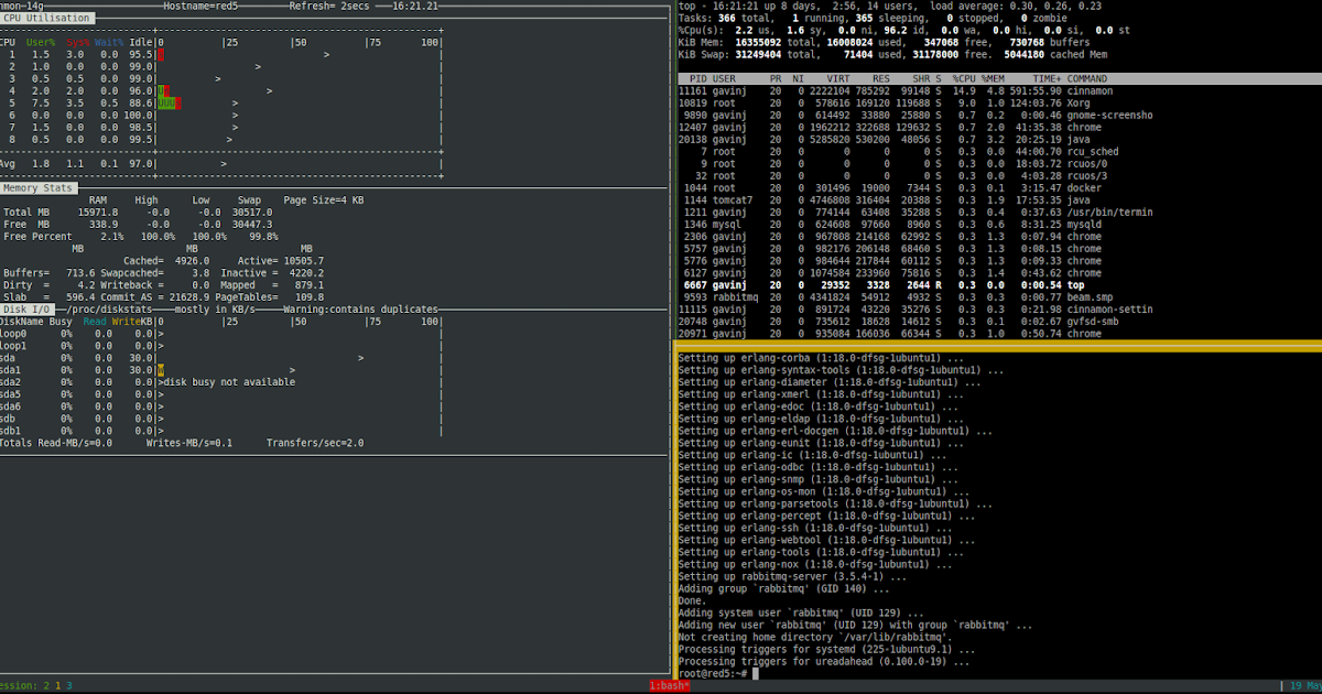 tmux - where have you been all my life?   gavinj net