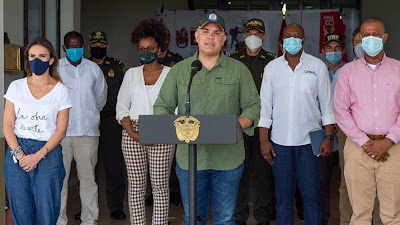 Gobierno Nacional trabajará en la reactivación económica de Chocó con 'seguridad y sentido social'