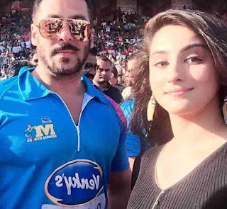 Diana Khan With Salman Khan