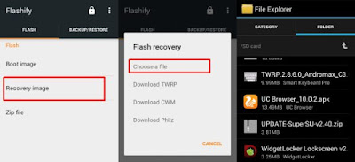 Tutorial Install TWRP Andromax C3 (AD6B1H) Work