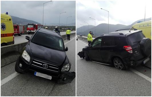 Ηγουμενίτσα: Τροχαίο ατύχημα πριν λίγο στην Εγνατία Οδό