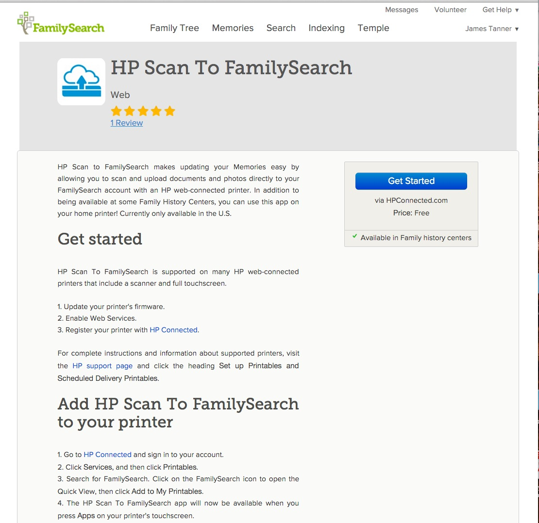 Rejoice, and be exceeding glad   : FamilySearch adds new partners