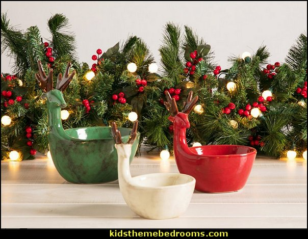 3 Piece Candy Bowl Set  christmas kitchen decorations - Christmas table ware - Christmas mugs  - Christmas table decorations - Christmas glass ware - Holiday decor - Christmas dining - christmas entertaining - Christmas Tablecloth - decorating for Christmas - Santa mugs - Christmas Cookie Cutters  - snowman and reindeer kitchen  accessories - red cardinal kitchen decor - seasonal dinnerware