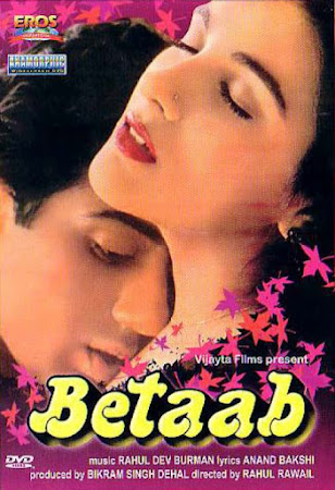 Poster Of Hindi Movie Betaab 1983 Full HD Movie Free Download 720P Watch Online